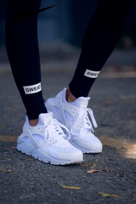 Nike Huarache Shoes White