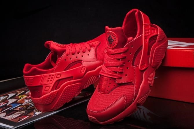 Nike Air Huarache Mens Red